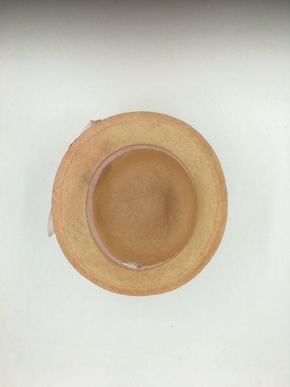 Women's 70's summer hats | Straw cloche hats | Su… - image 5