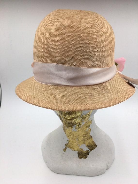 Women's 70's summer hats | Straw cloche hats | Su… - image 4