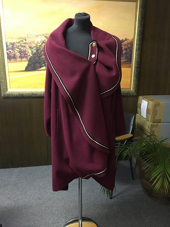 Women's 80's Vintage coat | Ladies winter coat | C