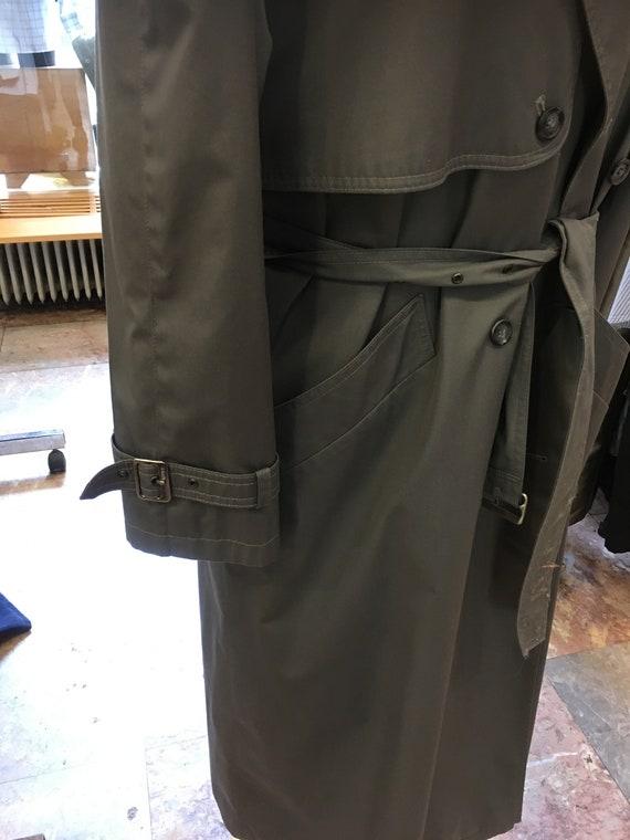 Women's Vintage 80's trench coat | double breaste… - image 9