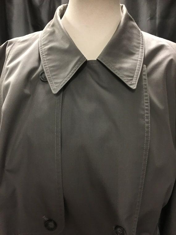 Women's Vintage 80's trench coat | double breaste… - image 4