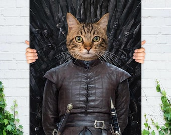 Dog and Cat Id Game of Thrones Lannister SGL