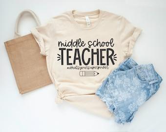 Middle School Teacher SVG   School SVG   School quote svg   Teacher PNG   Middle School quote svg   School png   Teacher svg