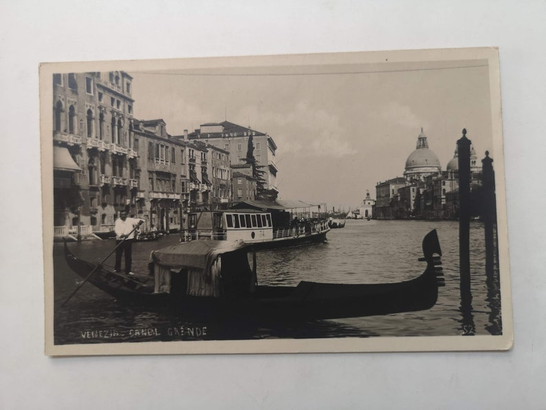 Vintage Postcards of Italy 1900s Onwards Venice Naples | Etsy