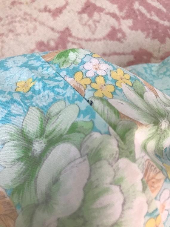 Vintage 1960's/1970's Floral Mini Dress - image 8
