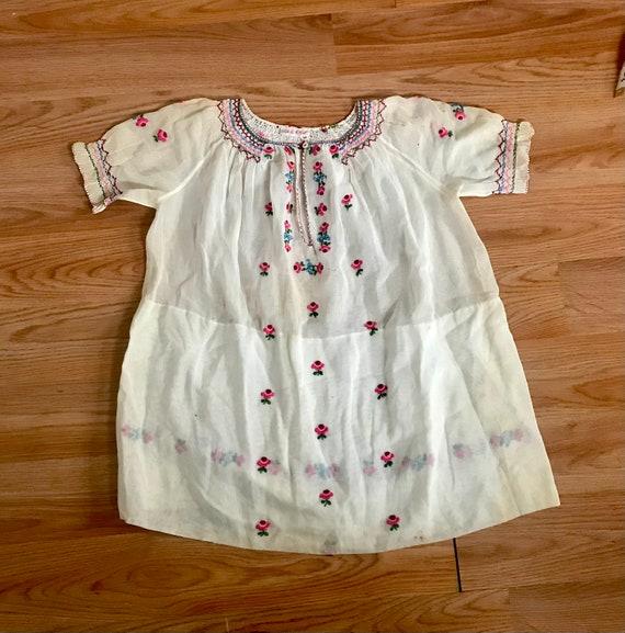 1930's Children's Hungarian Dress/Top