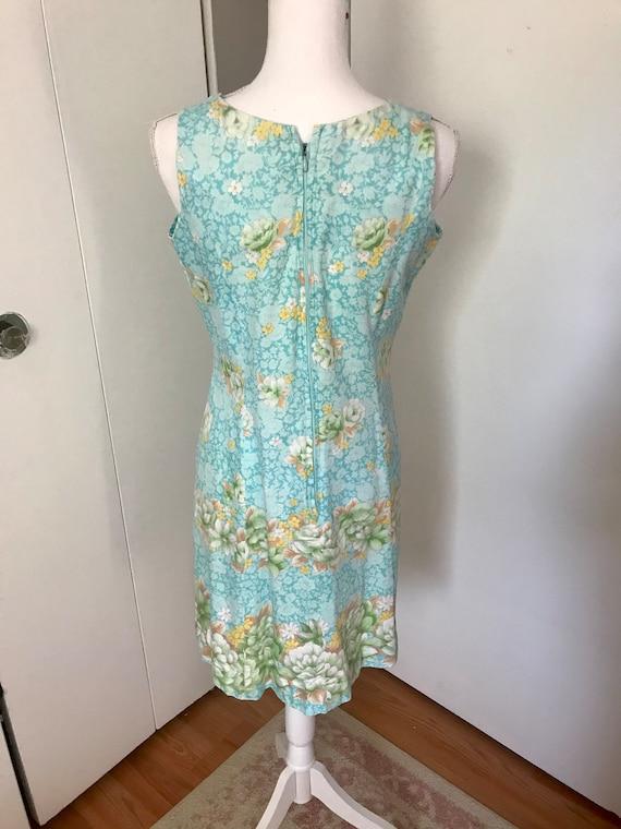Vintage 1960's/1970's Floral Mini Dress - image 3