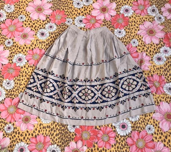 1950's/1960's Novelty Skirt
