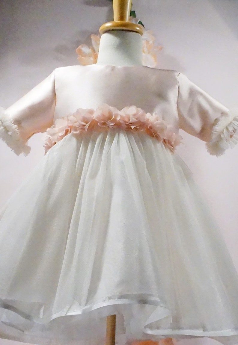 Baptism Child/'s Wedding Dress Dreams Collection Out of the Tray Model 13 AB