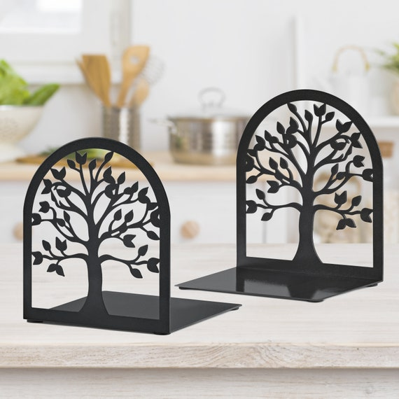 Bookends Book Lover Gift Tree of Life Book Ends Heavy Duty