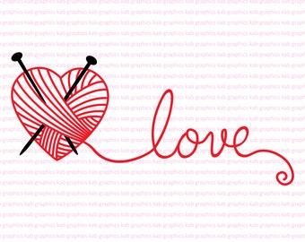 Hand knitted heart Valentine's gift Valentine's souvenir Heart ...