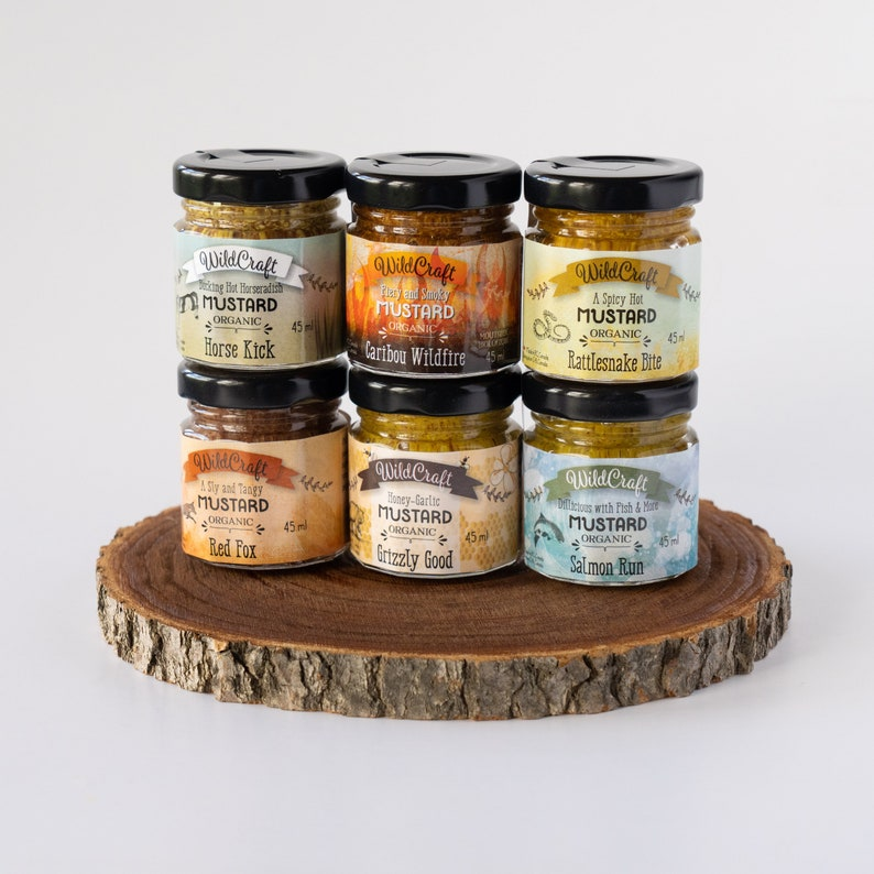 Organic Mustard Gift Pack Double Deal  Mustardellos image 0