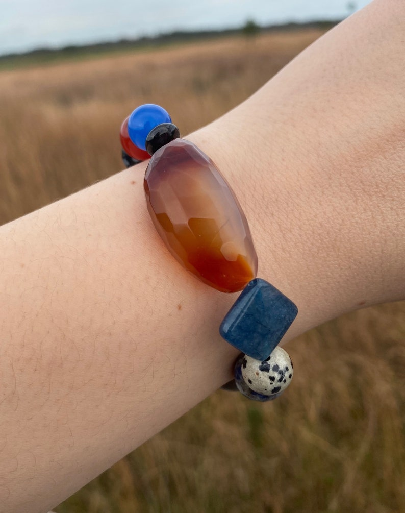 prosperity and more. Stunning bracelet use it for concentration protection harmony peace
