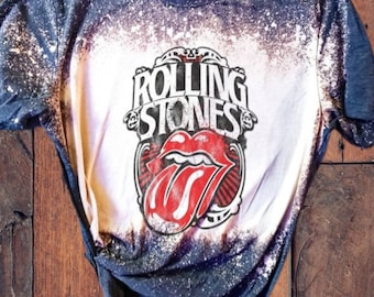 The Rolling Stones toddler shirt English rock band shirt Rock Blues Rock and roll Kids size 3-4 Yrs 104 cm