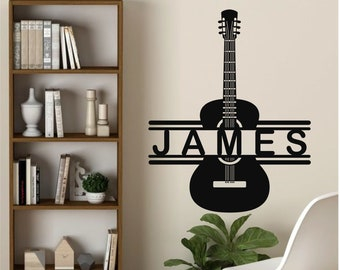 Guitar Decor Etsy
