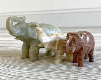 Three Carved Stone Elephants (SMH)
