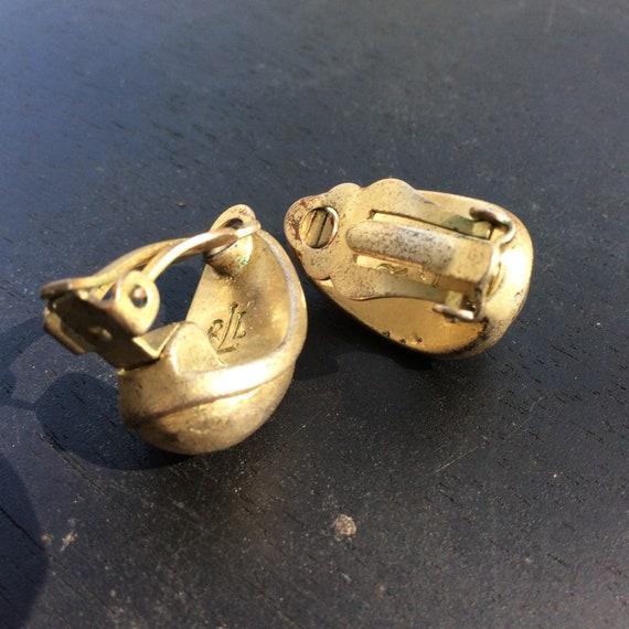 Eighties RLL Ralph Lauren earrings,classic hammer… - image 6