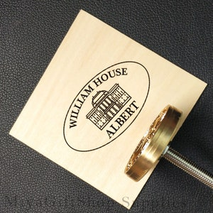 logo or label on woodleatherfood. Very suitable for brand mark and trademark printing You can easily burn your own image