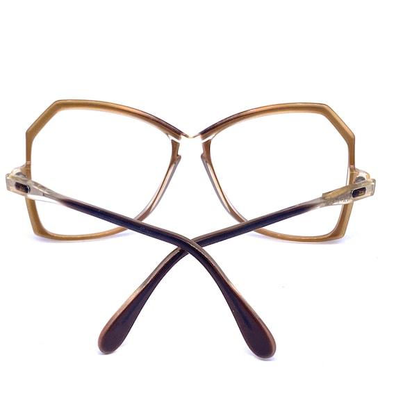 Cazal 151 oversized eyeglasses/sunglasses frames … - image 4