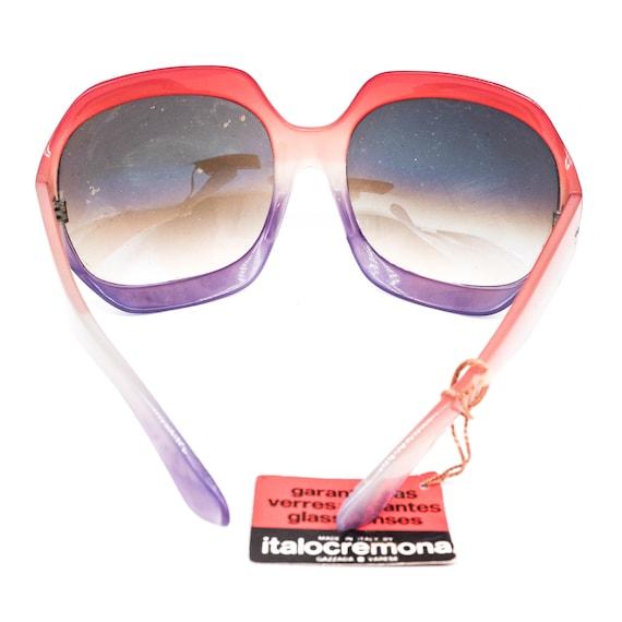 ItaloCremona iconic 1970s funky oversized sunglas… - image 5