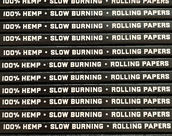 Rolling Papers / 100% Hemp / 40 pack