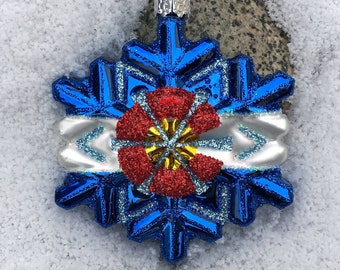 Colorado Snowflake Ornament