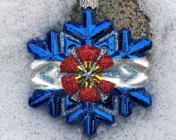 Colorado Snowflake Ornament