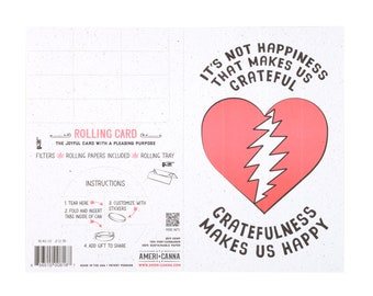 Grateful Dead | Gratefulness | Gifting Card | Grateful Dead Cards | Grateful Dead Valentines Day | Grateful Dead Wedding | Grateful Birthday