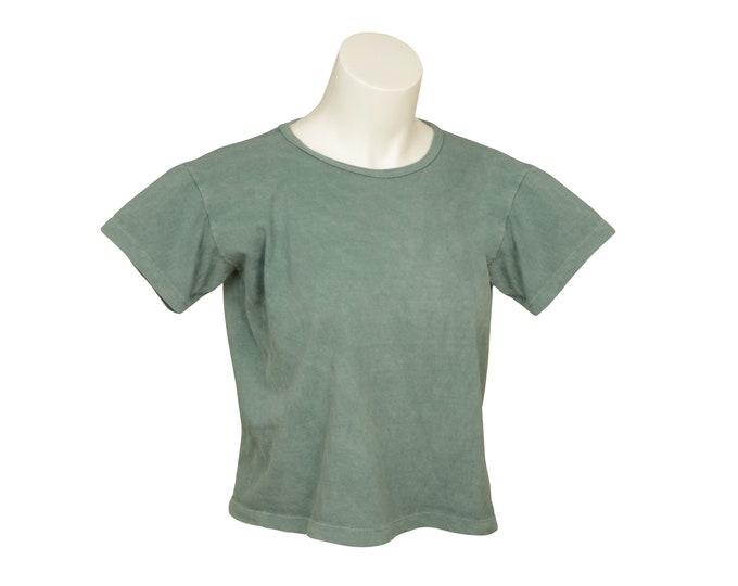 Box Crop - Xtra-Wide - Short Sleeve - Women's - Organic Cotton, 100% U.S.A. Grown, Made in USA