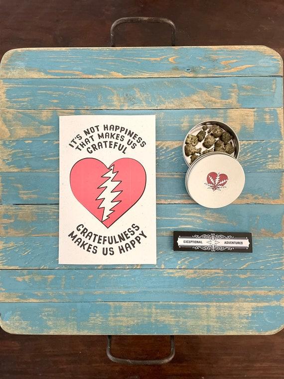 Grateful Dead | Gratefulness | Gifting Card | Grateful Dead Cards | Grateful Dead Valentines Day | Grateful Dead Wedding | Grateful Birthday