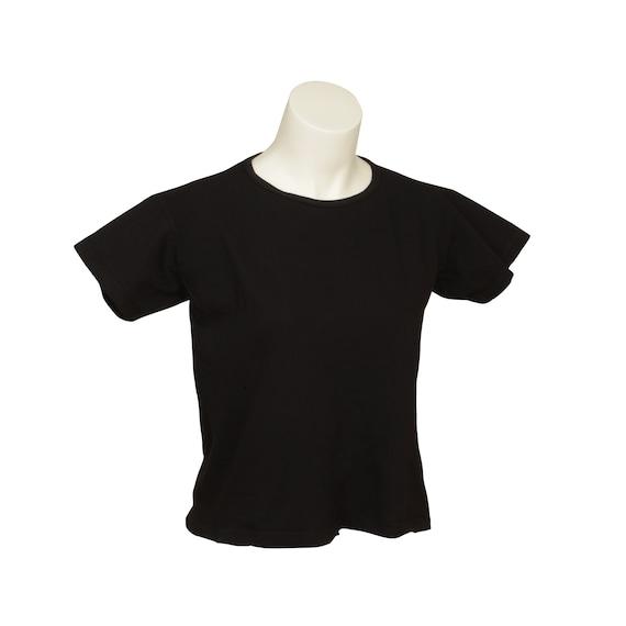 Box Crop - Short Sleeve - Women's - Organic Cotton, 100% U.S.A. Grown, Made in USA