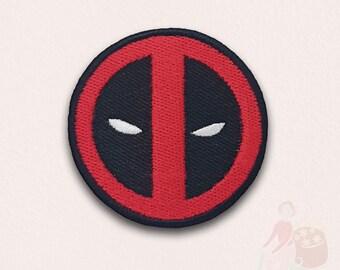 Deadpool Super Hero Brodé Patch Iron Sew Hook Loop Emblème Marvel Comic