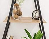 Unique A-Frame Ladder Shelves
