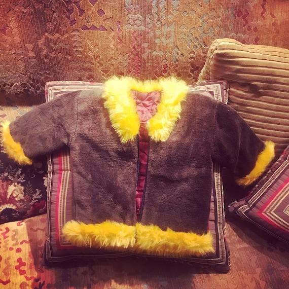 70's Toddler (2-3YO) Teddy Bear Coat