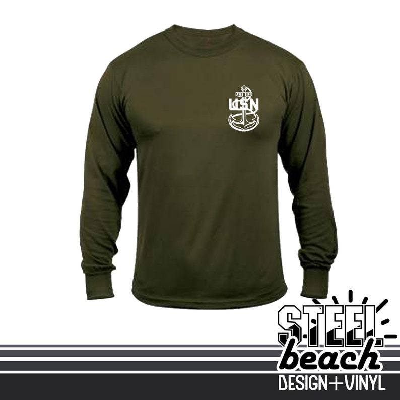 Navy Secret Squirrel Coyote Brown Military Long Sleeve Shirt Intelligence CT IS