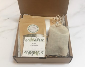 Relaxing Stress Relief Anxiety Self-Care Bath Gift Set, Letterbox Gift Pamper Spa Gift, Relax Gift Box, Thinking of You Gift, Self Care Gift