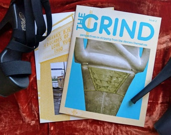 The GRIND Issue 2 - Full-color Printed Zine
