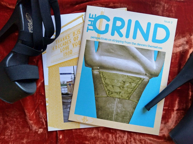 The GRIND Issue 2  Full-color Printed Zine image 0