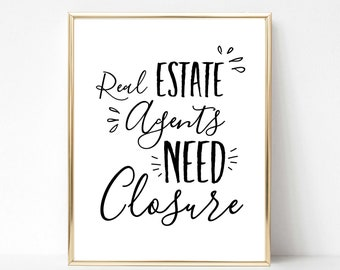 Funny Realtor Quote Etsy