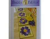 Pattern,Patchwork Pansy Table Runner by Shabby Fabrics