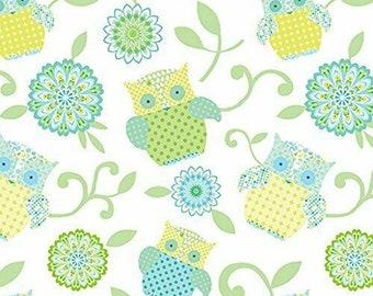 Benartex Fabric Owl Pals Toy Panel