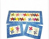 Charmed Twister Table Runner Placemats Pattern by Amy 39 s Wagon Wheel Creations