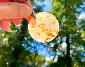 Harvest Moon Pendant Necklace!