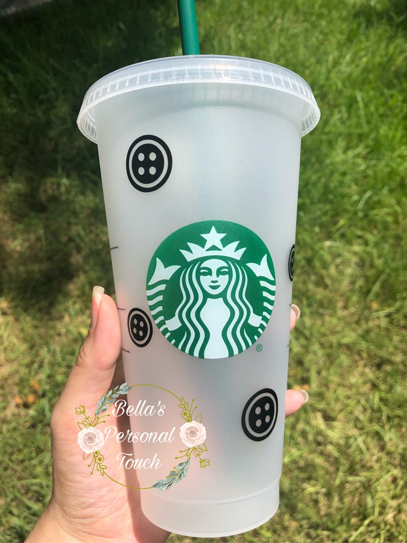 Before placing your order please read the description below. Coraline Inspired Starbucks 24oz Cold Cup