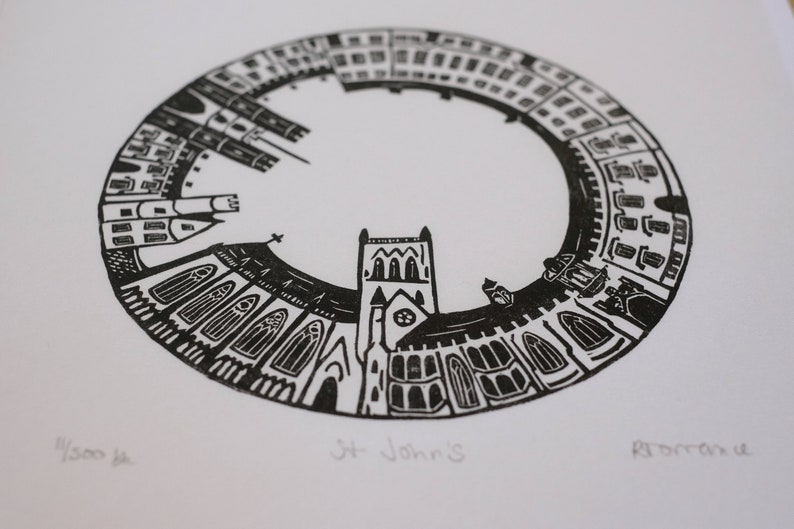 John/'s Original Linoprint St