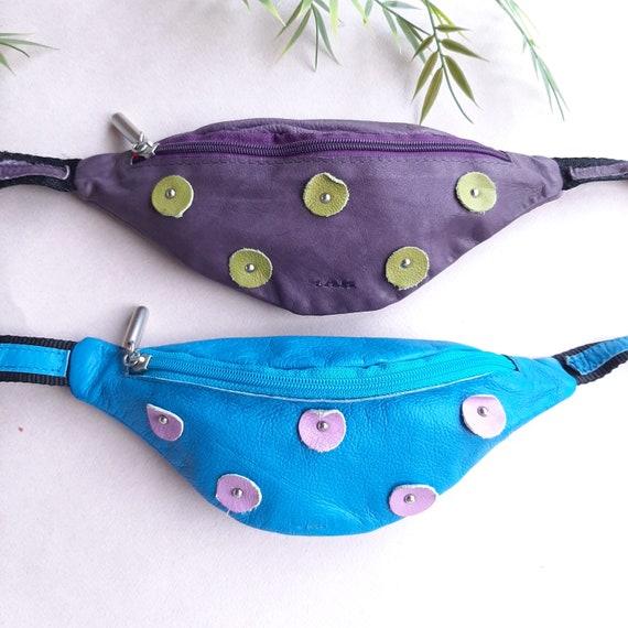 Leather Waist Bag Small belt bag Kids belt bag Col