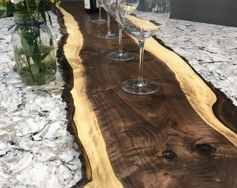 Large Black Walnut Charcuterie Serving Boards, Grazing Board, Cutting Board, Cheese and Meat Board