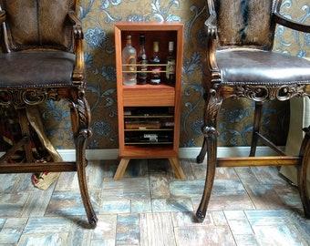 Wood Wine Rack, Wine storage wood, wine cabinets, wine furniture, average wine rack, Rustic Wine Rack, Cocktail cabinet, Bar Cabinet,