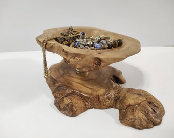 Rustic vase for small things, Bowl with Live Edge Mountain Elm Burl, Wood  Decor, Rustic Bowl, Jewelry Tray, Home Decoration Accessory,