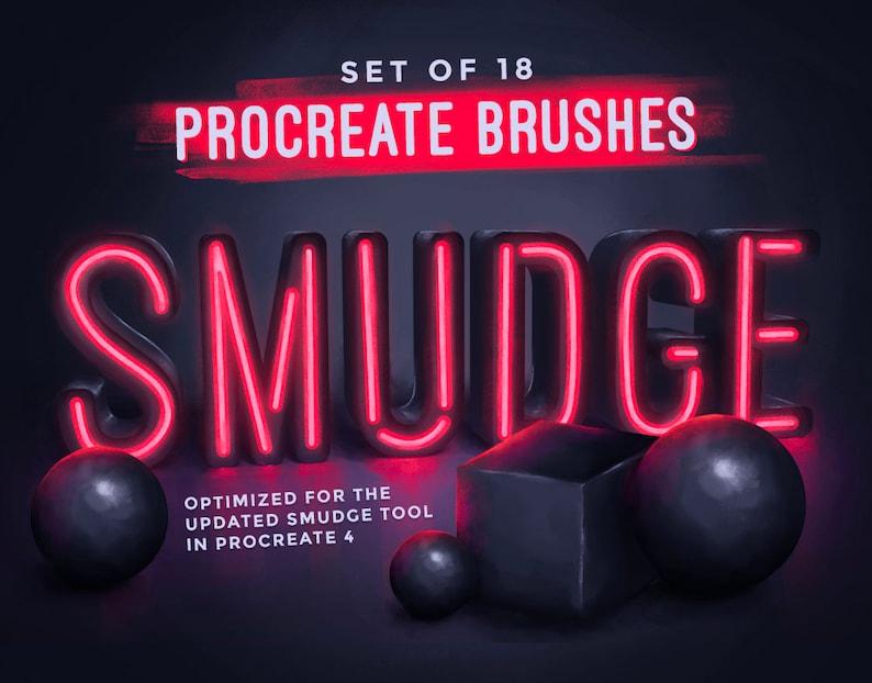 Procreate Smudge Brushes image 0